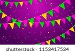 vector illustration festive...   Shutterstock .eps vector #1153417534