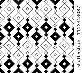 ethnic pattern. tribal motif.... | Shutterstock .eps vector #1153453087