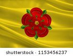 flag of lancashire is a... | Shutterstock . vector #1153456237