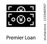 paper money cash of an... | Shutterstock .eps vector #1153485907