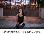 portrait of beautiful asian... | Shutterstock . vector #1153496491