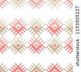ethnic boho seamless pattern....   Shutterstock .eps vector #1153505227