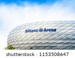 munich  germany  june 25  2018  ... | Shutterstock . vector #1153508647