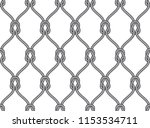 vector ropes  fishing net... | Shutterstock .eps vector #1153534711