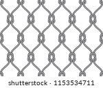 vector ropes  fishing net... | Shutterstock .eps vector #1153534711