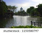 The Anata Samakhom Throne Hall,Dusit Zoo,Bangkok,Thailand.