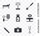 set of 9 simple transparency...   Shutterstock .eps vector #1153582384