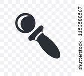 private eye magnifying glass... | Shutterstock .eps vector #1153588567