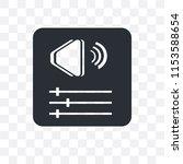 volume bars vector icon... | Shutterstock .eps vector #1153588654