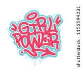 Girl Power. Tag Graffiti Style...