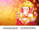lord ganesha   ganesh festival | Shutterstock . vector #1153625341
