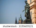 Statue Of Charles Iv   Karl Iv  ...