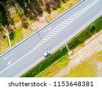 aerial view of highway in city. ...   Shutterstock . vector #1153648381