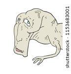 mutant monster illustration | Shutterstock .eps vector #1153683001