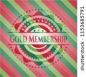 gold membership christmas... | Shutterstock .eps vector #1153685791