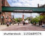 toronto  ontario  canada   june ... | Shutterstock . vector #1153689574