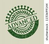 green advanced distress rubber... | Shutterstock .eps vector #1153699144