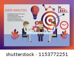 3d infographic business data... | Shutterstock .eps vector #1153772251