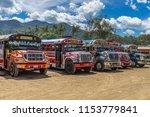 antigua guatemala  guatemala  ... | Shutterstock . vector #1153779841