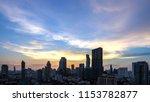 bangkok city   aerial view ... | Shutterstock . vector #1153782877