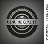 genuine quality dark icon or... | Shutterstock .eps vector #1153795507