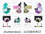 cover design template for... | Shutterstock .eps vector #1153840927
