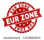 eur zone seal print with... | Shutterstock .eps vector #1153865014