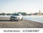 saint petersburg russia  ... | Shutterstock . vector #1153865887