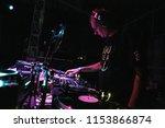 kiev 4 july 2018  night club... | Shutterstock . vector #1153866874