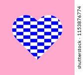 blue and white rectangles... | Shutterstock .eps vector #1153876774
