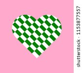 green and white rectangles... | Shutterstock .eps vector #1153877557