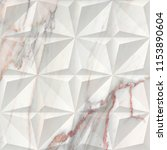 geometric on marble texture... | Shutterstock . vector #1153890604