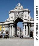 Постер, плакат: The famous Triumph Arch