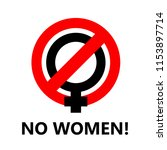 no women icon to use as a... | Shutterstock .eps vector #1153897714