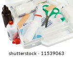 first aid kit | Shutterstock . vector #11539063