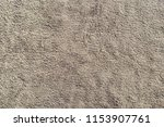 grey bath cotton towel natural...   Shutterstock . vector #1153907761