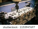 grinding cylinder head and... | Shutterstock . vector #1153947697