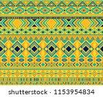 peruvian american indian... | Shutterstock .eps vector #1153954834