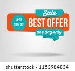 sale banner template design....   Shutterstock .eps vector #1153984834