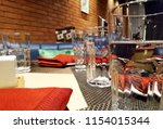 hotel dining view | Shutterstock . vector #1154015344