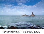 kanyakumari tamil nadu  india   ... | Shutterstock . vector #1154021227