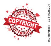 red rubber stamp with concept | Shutterstock .eps vector #1154026204