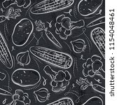 seamless patterns with... | Shutterstock .eps vector #1154048461