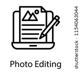laptop screen with file having ... | Shutterstock .eps vector #1154063044