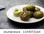 hara bhara kabab or kebab is... | Shutterstock . vector #1154072164