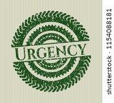 green urgency distress grunge... | Shutterstock .eps vector #1154088181