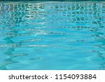 relaxing ripples of pools | Shutterstock . vector #1154093884