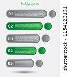 info graphic design template.... | Shutterstock .eps vector #1154123131