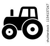 vintage farming transport with ... | Shutterstock .eps vector #1154137267