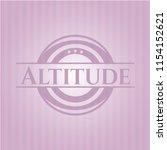 altitude pink emblem | Shutterstock .eps vector #1154152621